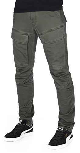 G-STAR RAW Herren Air Defence 5620 3D Slim Hose, Mehrfarbig (dk Shamrock/Asfalt 4893-8107), W30/L32