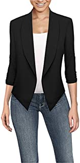 HyBrid & Company Womens Casual Work Office Open Front...