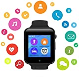 Bluetooth Smart Watch with Touchscreen Camera,Unlocked Watch Cell Phone with Sim Card Slot,Smart...