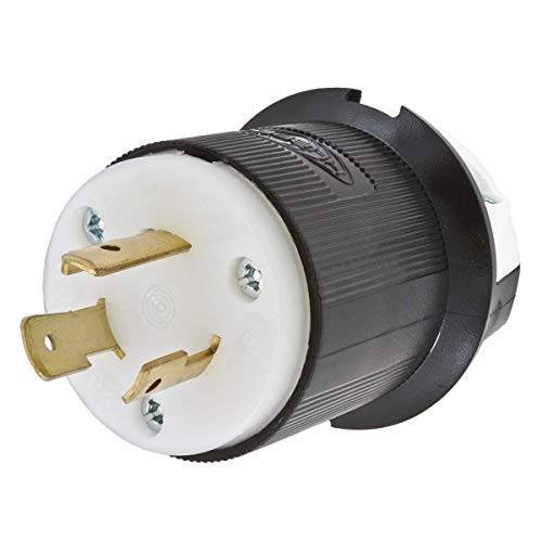HBL2321 Hubbell 2321 Twist-Lock Devices 20A, 250V AC, 2 Pole, 3 Wire Grounding Insulgrip Plug 20 AMP 2P