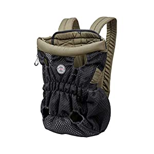 DuoLmi Pet Carrier Backpack, Adjustable Pet Front Cat Dog Carrier Backpack Travel Bag, Legs Out, Easy-Fit for Traveling Hiking Camping for Small Dogs Cats Puppies
