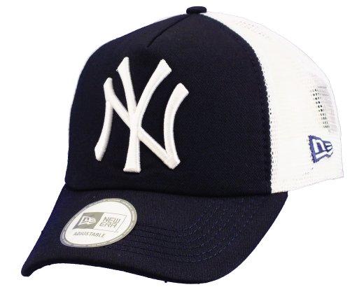 New Era MLB Trucker NY Yankees, Baseball Beretto Uomo, Blu (Navy), Unica