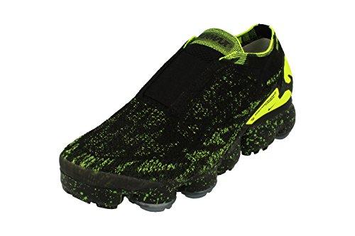 Nike Air Vapormax FK Moc 2 /Acronym - Black/Black-Volt - Running-Schuhe-Herren, Größe:7