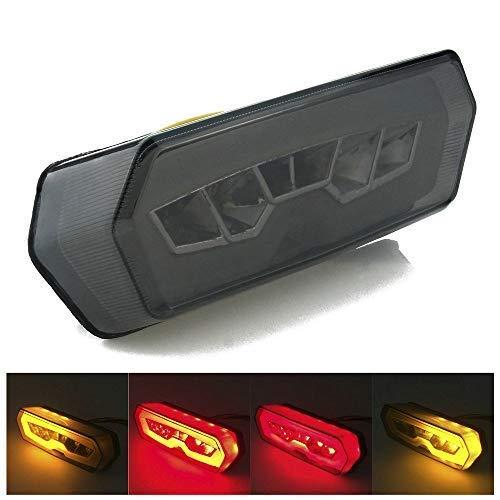 Heinmo - Luz Trasera LED de Freno para Motocicleta para Honda MSX125 CBR650F 2014-2016 Grom Rider LED luz Trasera lámpara Tali Light