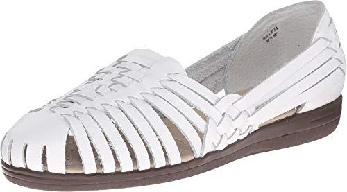 softspots Women's Trinidad Huarache Sandals White
