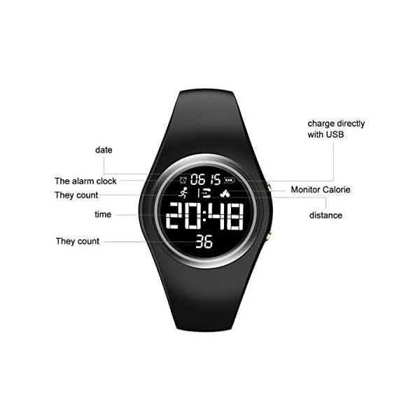 RCruning-EU Pulsera Actividad Impermeable IP68 Fitness Smartwatch Tracker