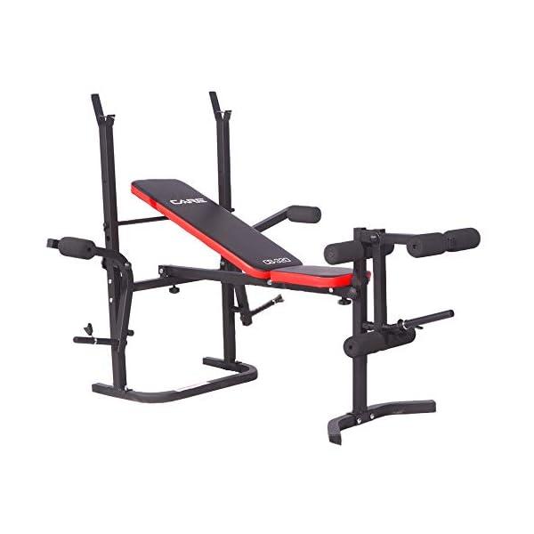CARE-FITNESS-Banc-de-Musculation-CB-320-Dvelopp-Inclin-Appareil–Pectoraux-Butterfly-PEC-Deck-Banc-dEntranement-Pliable-Musculation–Domicile