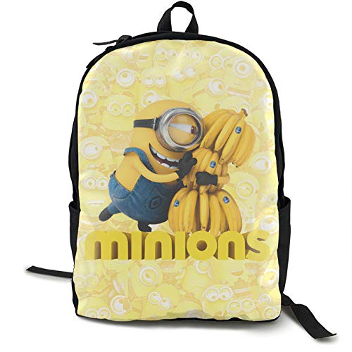 Minions 3d Print Backpack Cute Comfortable School Bag Bookbags For Girls Boys High School And College