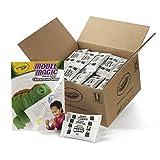 Crayola Model Magic White, Modeling Clay Alternative, Bulk School Supplies Classpack,75 Single Packs