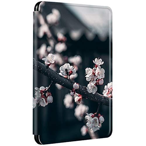 Funda para Kindle Paperwhite 2012 2013 2015 Edición Seda, Pattern Flip Cover 360° Protección automática Despertar o Sueño Magnético PU + PC Fina Case para Kindle Paperwhite 1 2 3