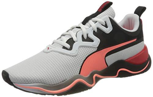 PUMA Zone XT Multi, Zapatillas de Gimnasio Hombre, Blanco White/Nrgy Peach Black, 46 EU