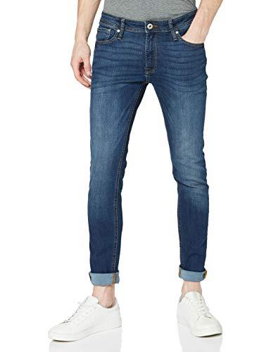 JACK & JONES Jjiliam Jjoriginal Am 014 Lid Noos, Jeans Hombre, Azul (Blue Denim), W32/L32 (Talla del fabricante: 32)