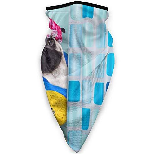 Nother Máscara facial con diseño de calavera dorada con bandera de Estados Unidos, protección contra el polvo, UV, sin costuras, bufanda 3D para motocicleta, equitación, ciclismo, máscaras