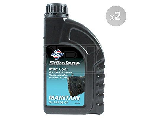 Silkolene Mag Cool Frostschutzmittel/Kühlmittel–Bereit zu verwenden–600928124# 2–2x 1Liter