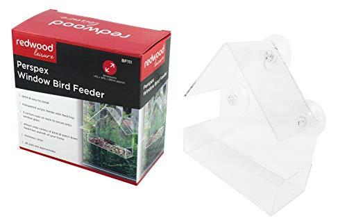 REDWOOD Perspex Fenster Futterstelle Für Vögel