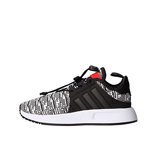 adidas X_PLR C, Scarpe da Fitness Unisex – Bambini, Nero (Negbas/Negbas/Rojo 000), 28