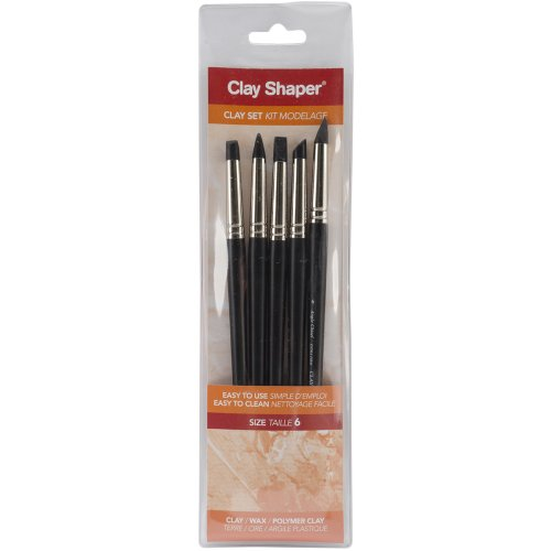 Forsline and Starr Modeling Tools Assorted Shapes No. 6 Set of 5