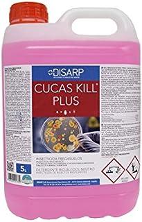 CUCAS KILL Fregasuelos insecticida.Insectos rastreros Garrafa 5l. (1)