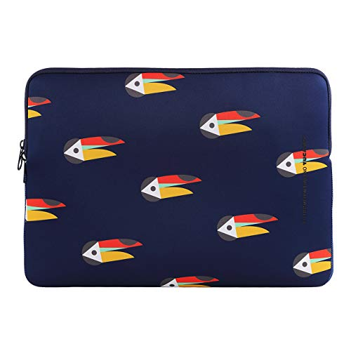 Tucano - Shake Second Skin Custodia in Neoprene per Laptop 14' And MacBook PRO 15' Blu