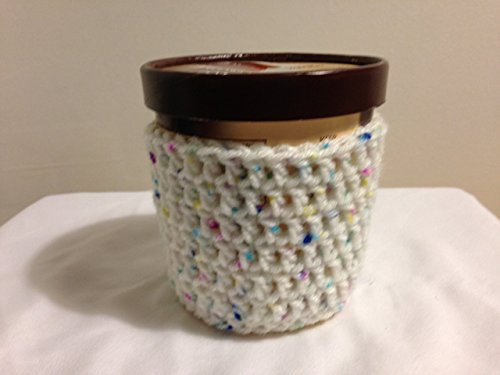 Crochet Ice Cream Pint Cozy (Set of 2)