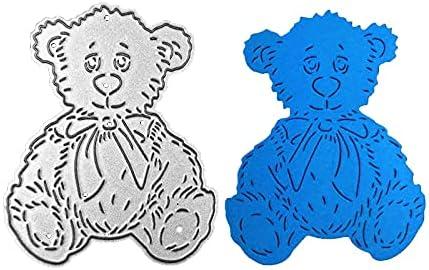 Little Teddy Bear Metal Sale Special Price Paper Cutting Scra Dies DIY Long Beach Mall for Stencils