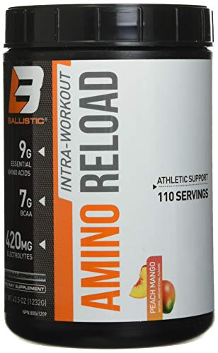 Ballistic Labs Ballistic Labs Amino Reload 110 Melocotón Mango 1232g 1232 g