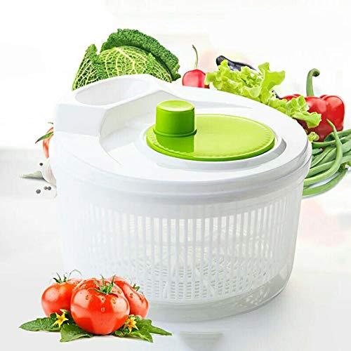 Essoreuse à Salade - Grande Salade De Haute Qualité - Facilement Spin & Dry Salades Et Légumes
