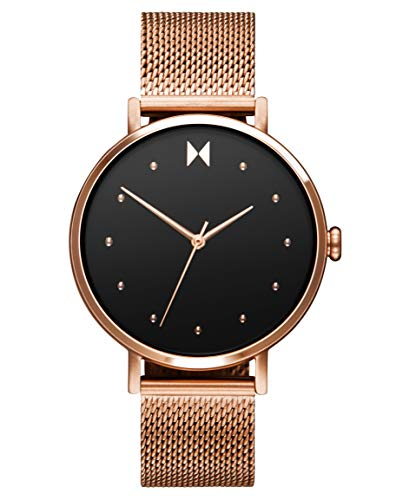 MVMT Damen Analog Quarz Uhr mit Edelstahl Armband 28000031-D