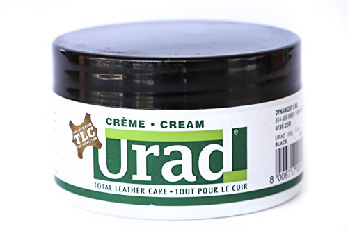 Leather Care URAD One step All-In-One Leather conditioner 200g - Black, 7oz