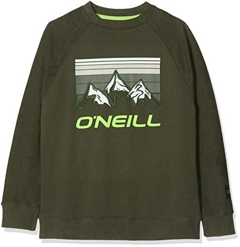O'NEILL LB Morgan Crew Sweat-Shirts Enfant, Vert forêt, 128
