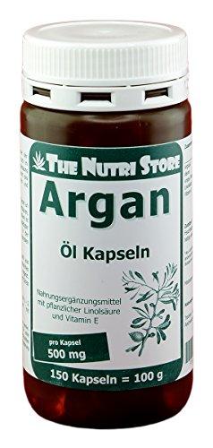 Arganöl 500 mg Kapseln 150 Stk. mit pflanzlicher Linolsäure