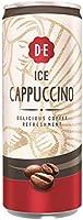 Douwe Egberts IJskoffie Ice Cappuccino, Koffie met Melk en een Vleugje Cacao (12 Blikjes, 100% Arabica Koffie, Ice...