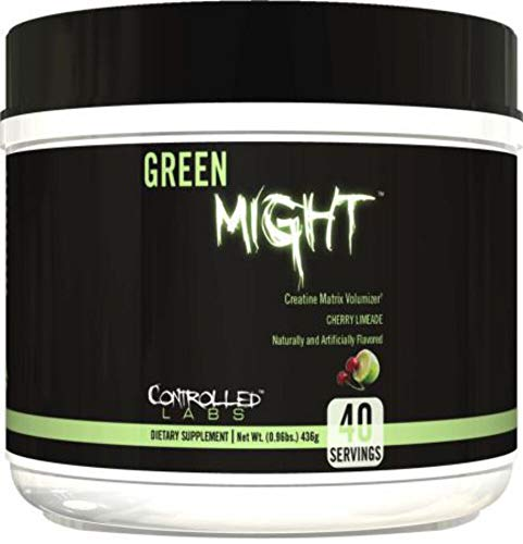 Controlled Labs, Green Might, Creatine Matrix Volumizer 40 Serving (Cherry Limeade)
