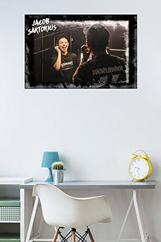 X562 Jacob Sartorius USA Child Music Art Silk 12x8 40x27inch Poster