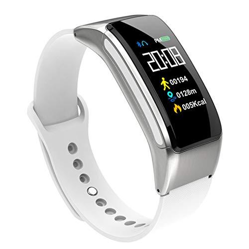 WPH B31 Pantalla De Color Pulsera Inteligente Auriculares Bluetooth Dos-Uno Llamada Reloj Inteligente Ritmo Cardíaco Presión Arterial AI Control De Voz,B