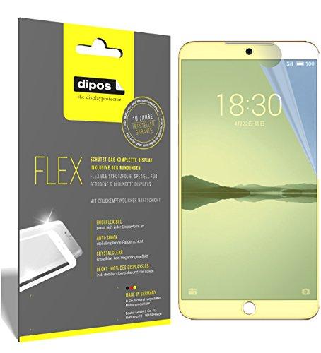 dipos I 3X Schutzfolie 100prozent kompatibel mit Meizu 15 Folie (Vollständige Bildschirmabdeckung) Bildschirmschutzfolie