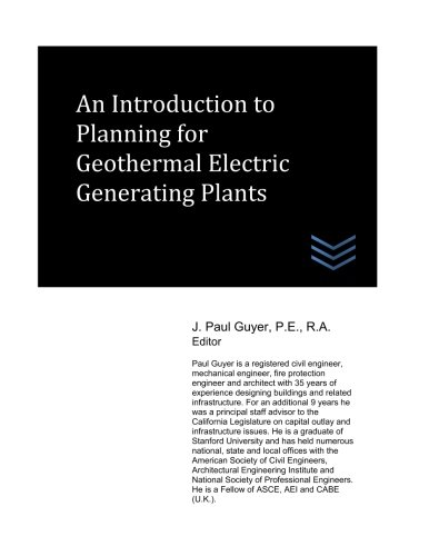 An Introduction to Planning for Geothermal Electric Generating Plants