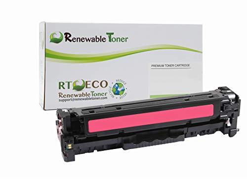 Renewable Toner Compatible Toner Cartridge Replacement for HP 312A CF383A Laserjet Pro MFP M476 (Magenta)