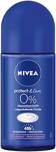 NIVEA Lot de 6 déodorants bille pour femme, sans...