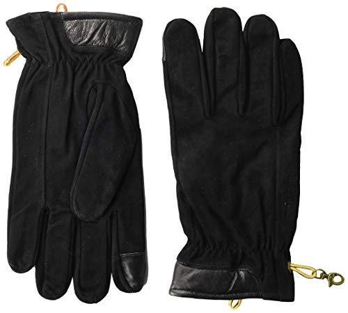 Timberland Herren Nubuck Glove with Touchscreen Tips Handschuhe für kaltes Wetter, schwarz, XL