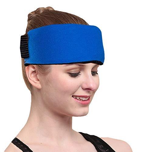 """Paquete de gel de hielo para compresas frías y calientes - para dolores de cabeza,migrañas,esguinces,contusiones,tendinitis,dolor en las articulaciones y más - 9.8""""x 4.4"""""""