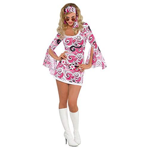 amscan 844586-55 Costume pour Adulte avec Bandeau Assorti Taille 36-38-10-1 PC