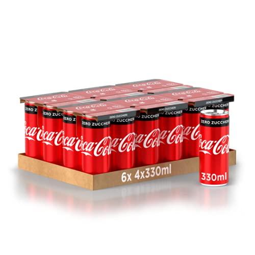 Colca-Cola Zero Lattina 330ml x24