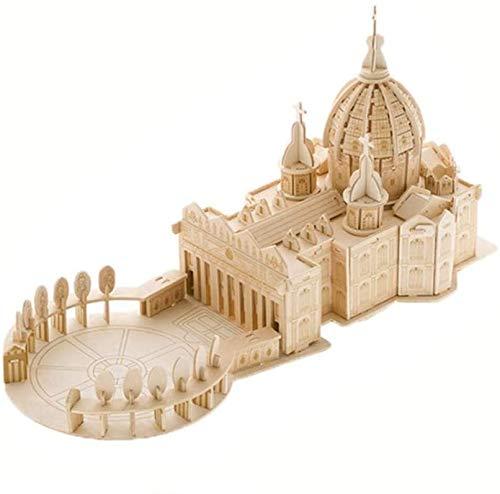 Puzzles 3d basilica di san pietro