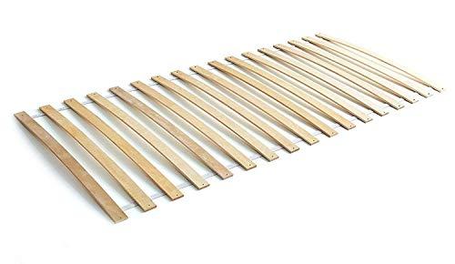 AVANTI TRENDSTORE - Doria - Rete a doghe avvolgibile Pratica, Una Soluzione Veloce per la Tua Stanza da Letto. Disponibile in 2 Misure Diverse (90x200 cm)