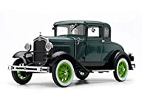 1931 Ford Model A Coupe Valley Green and Vagabond Green 1/18 Diecast Model Car by SunStar 6136 商品カテゴリー: ダイキャスト [並行輸入品]