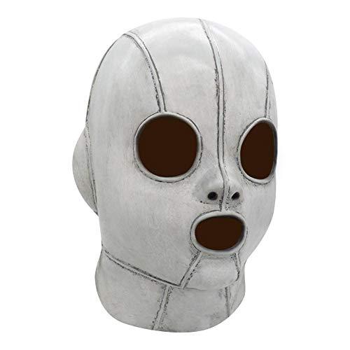 Youngfate Gesichtsmaske Halloween Horror Maske Latex Cosplay Kostüm für Männer Erwachsene Kleidung Halloween