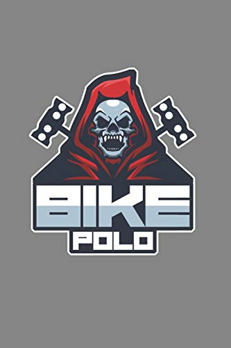 Bike Polo: Cool Animated Bike Lover Design Notebook Composition Book Novelty Gift (6