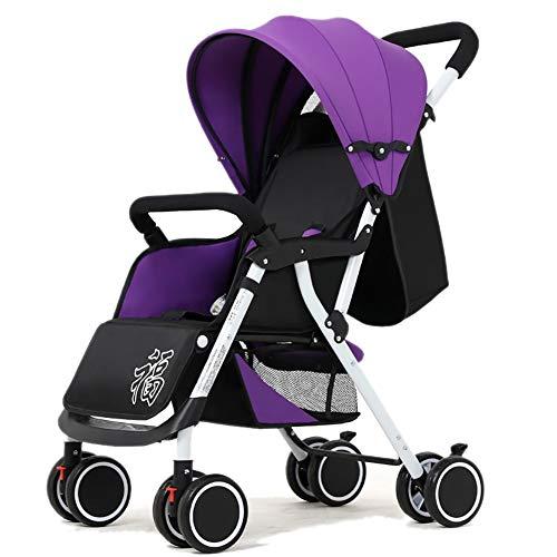 Poussettes pour bébé, Chariot Universel pour bébé, léger, Pliable, à 4 Roues, Suspension Universelle