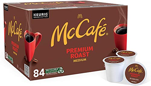 McCafe Premium Medium Roast K-Cup Coffee Pods, Premium Roast, 84 Count